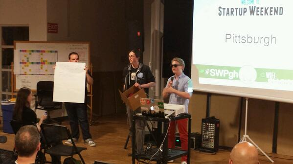 Fratboxes startup weekend initial pitch