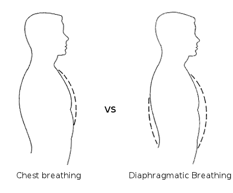 diaphragmatic breathing to last longer in bed
