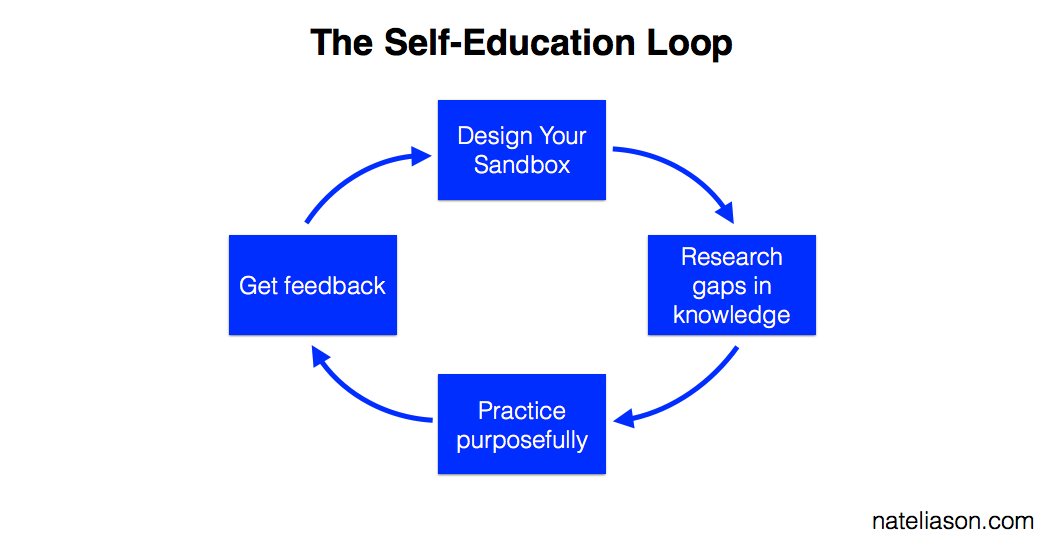 Self-Education: Teach Yourself Anything with the Sandbox