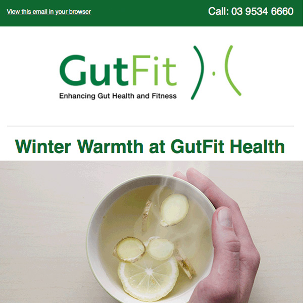 Email Marketing Campaign for GutFit Health