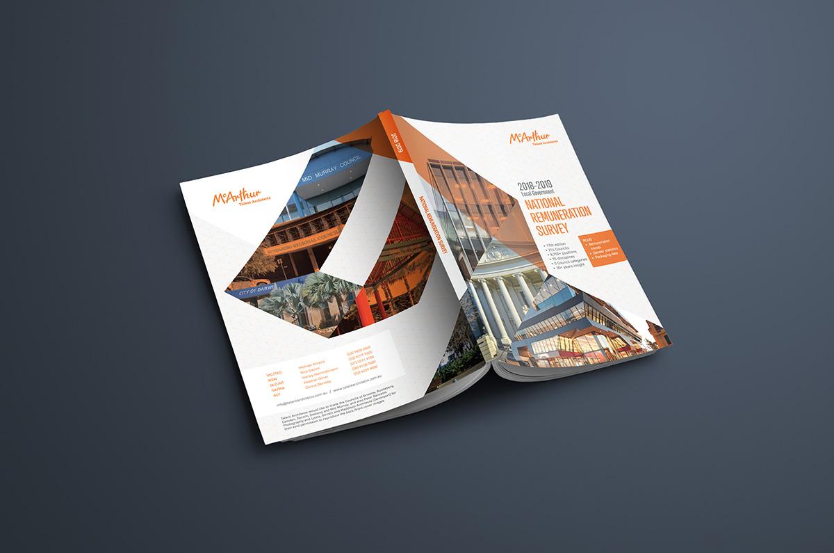 Graphic Design for McArthur Publication