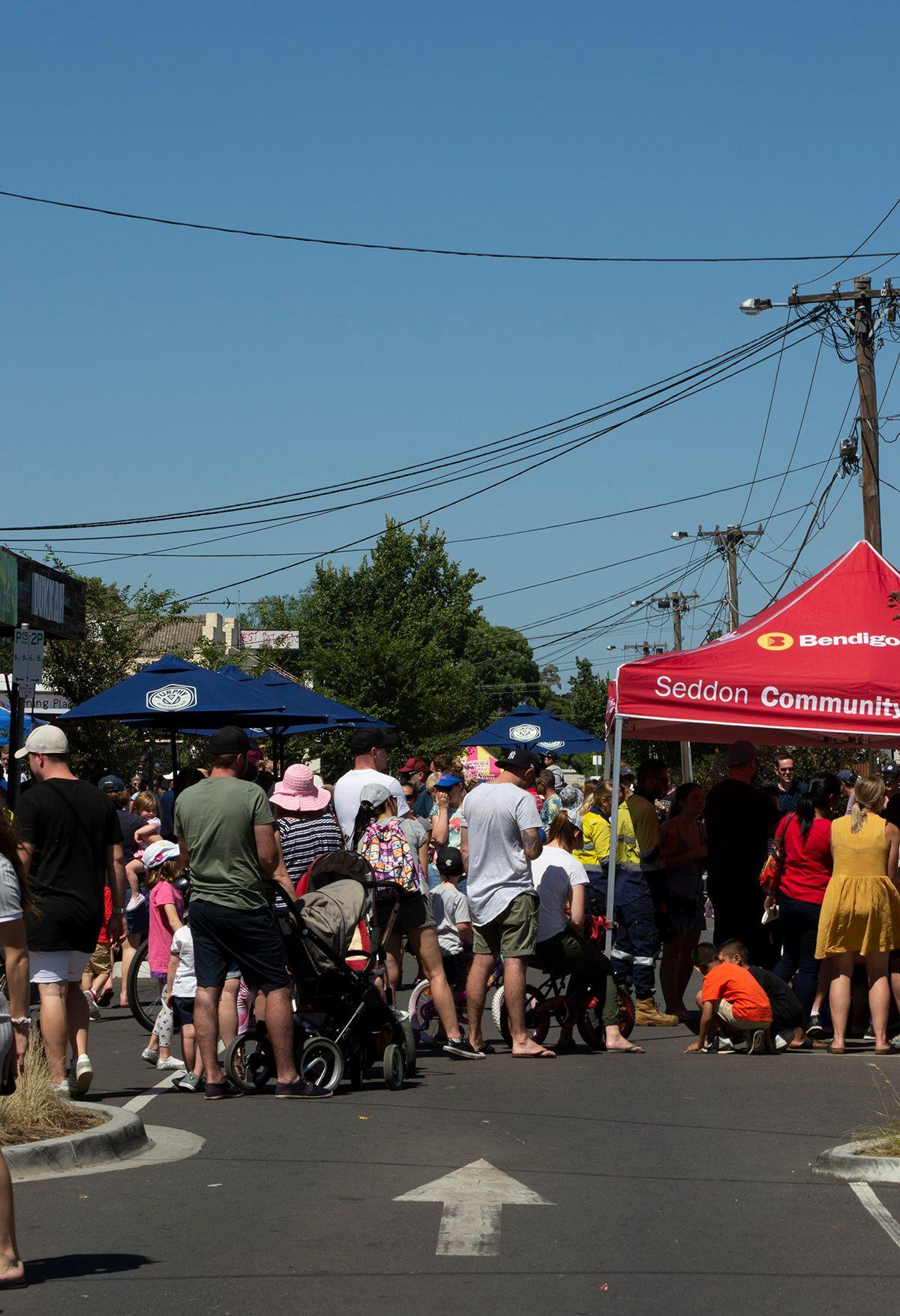 Vernon Street Festival Design, Branding and Organisation