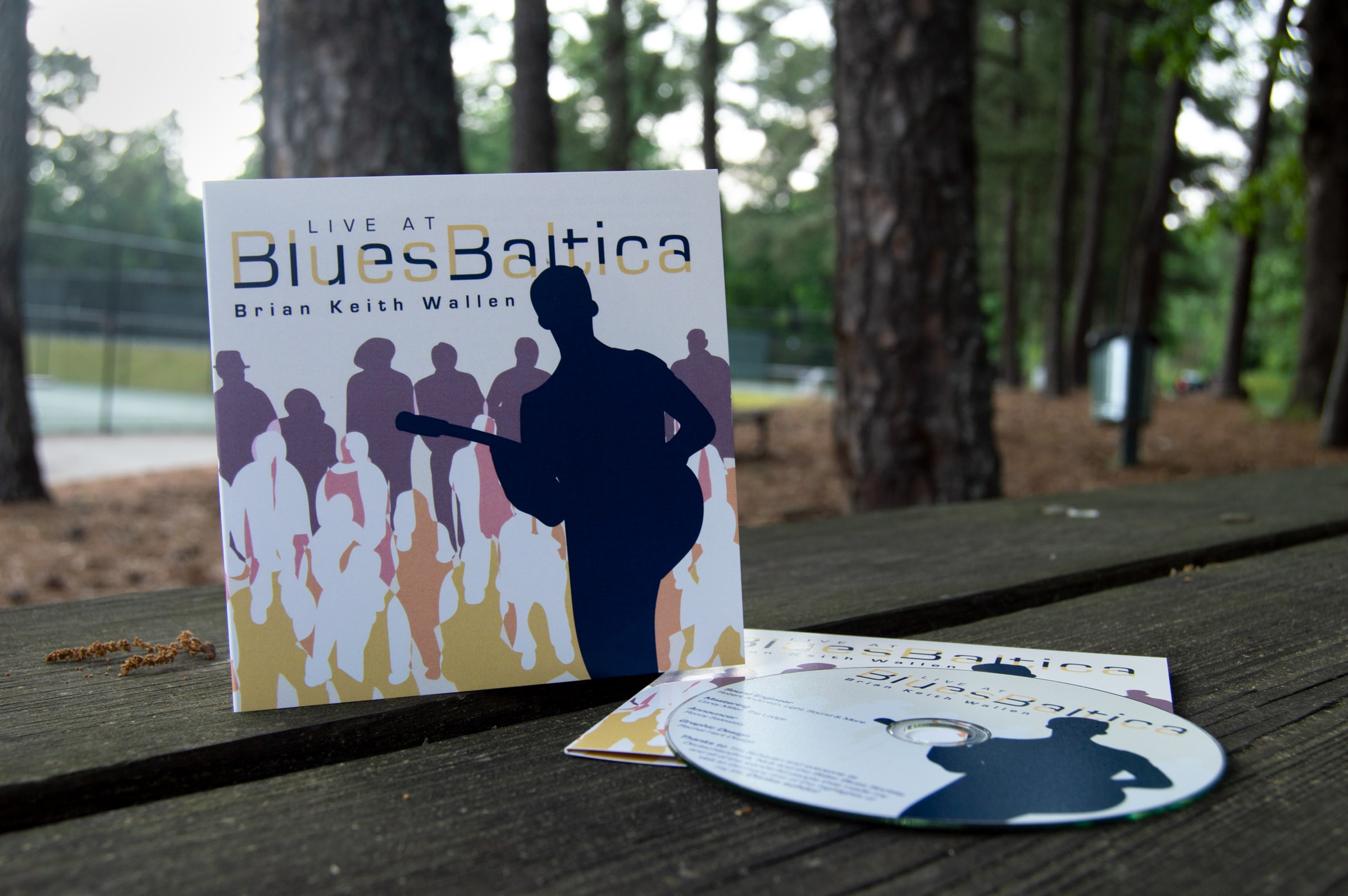 "A CD case with the title ""BluesBaltica"" and an illustration of a man playing guitar for a dancing, fun-loving crowd."