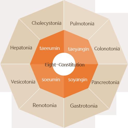 Eight Constitution Medicine Chart