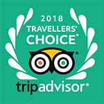 Greenmount House B&B awarded the 2018 Travellers' Choice Awards from tripadvisor