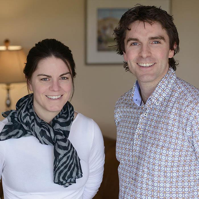 Gary and Marie Curran who run Greenmount House B&B Luxury Accommodation Dingle
