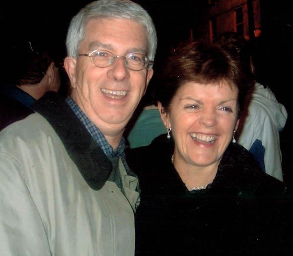 John and Mary Curran who run Greenmount House B&B Luxury Accommodation Dingle