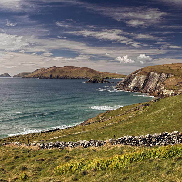 View of the Great Blasket from the Slea Head Drive on the Dingle Peninsula, Ireland