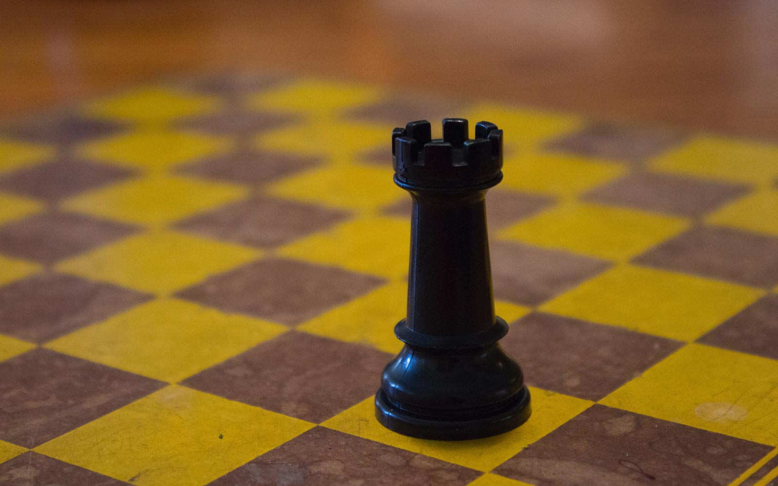 Chess Board with one figure