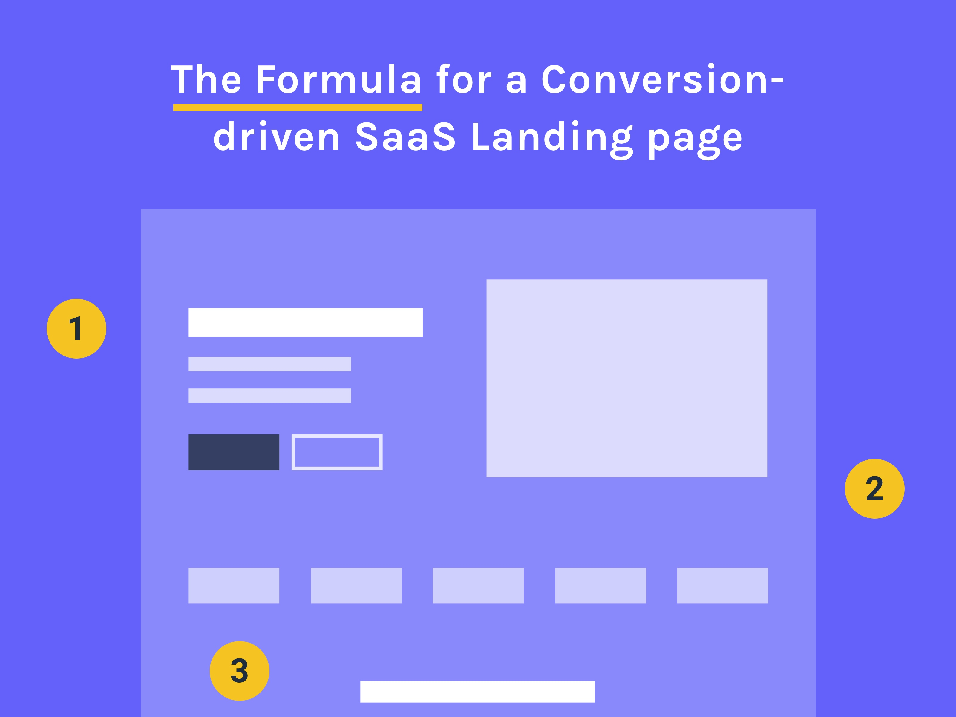 How to Make a Conversion-driven SaaS Landing page [2018 edition]