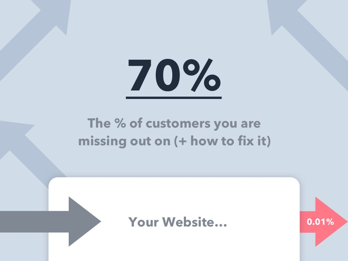 Why Saas Startups Are Missing Out On 70 Of Conversions How To Fix It