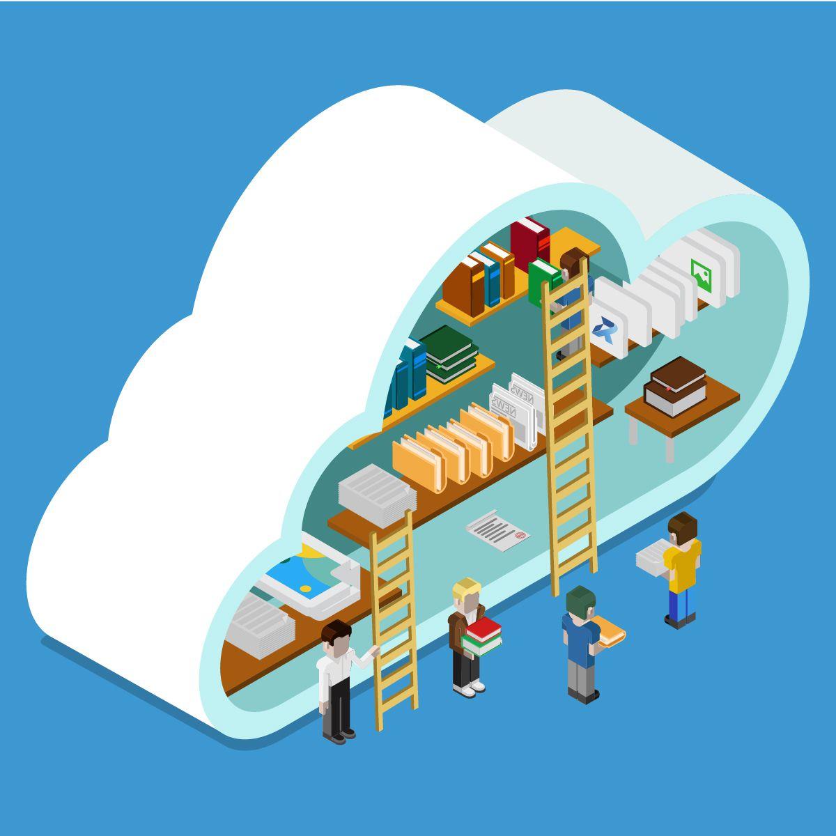 documentos na nuvem