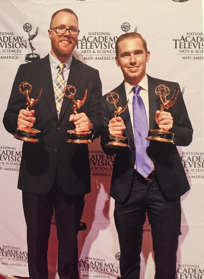 Shane Simmons and Jacob Nice winning two Emmys.