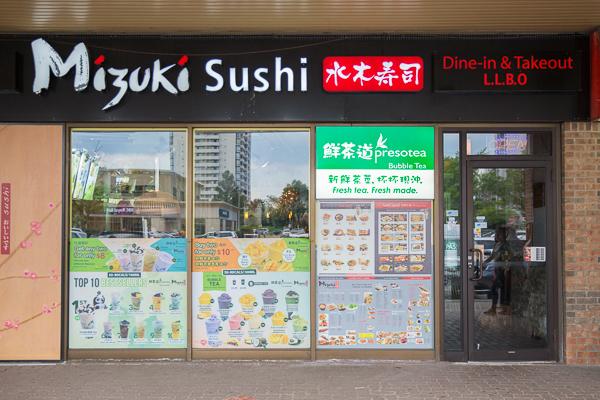 Presotea North York Mizuki Sushi