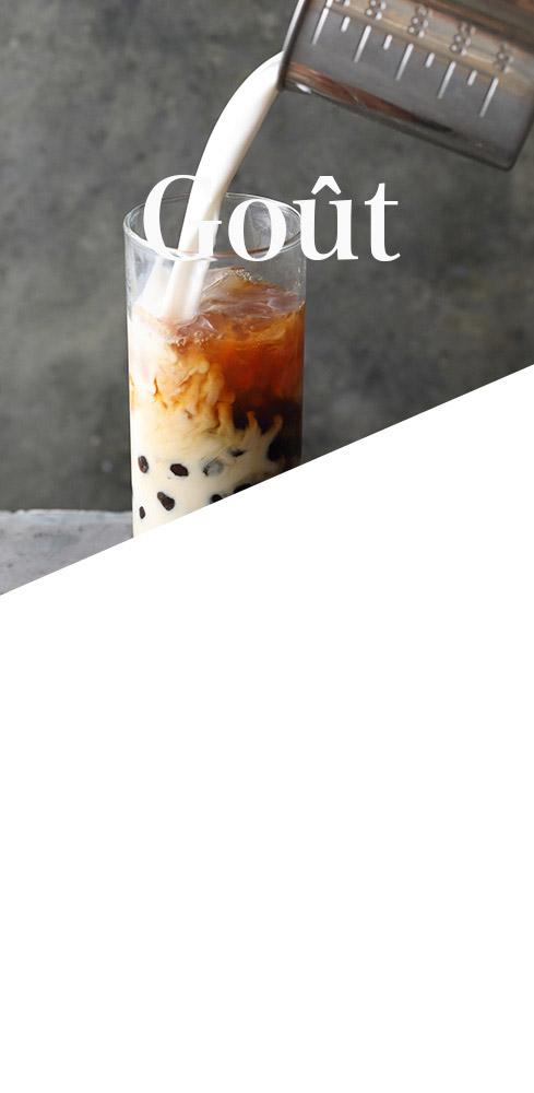 Presotea quality tea taste and texture