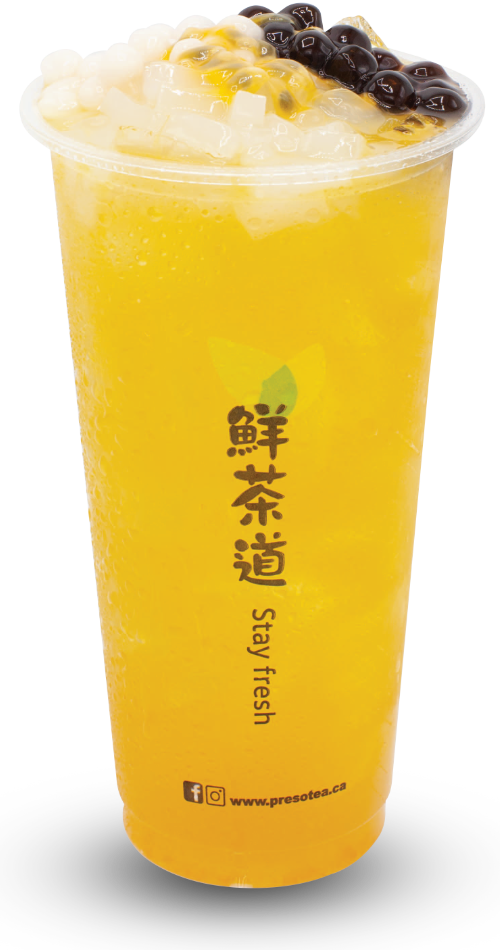 百香果雙Q綠茶