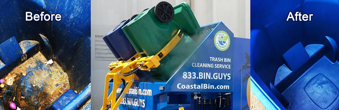 Coastal Bin Cleaning | Before & After