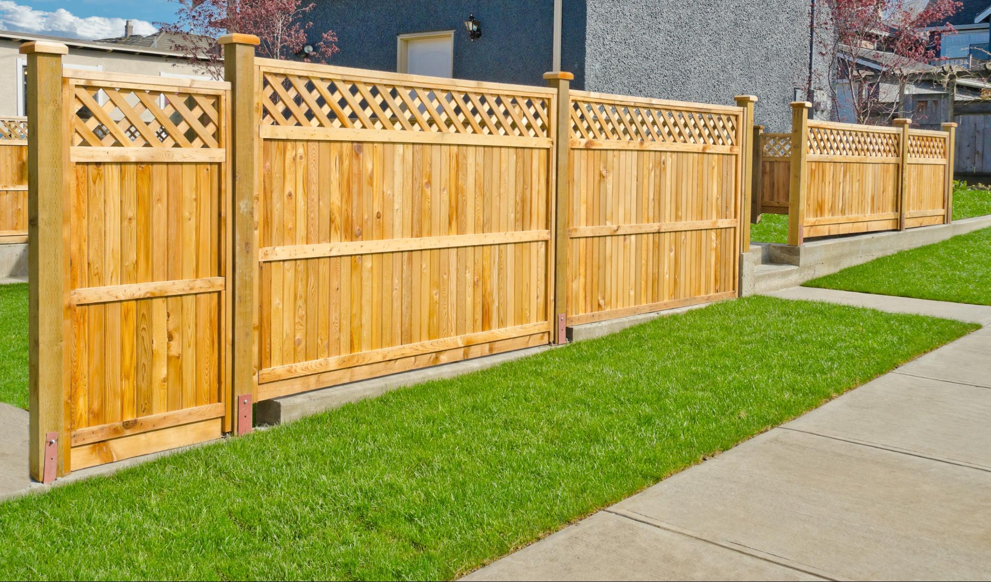 Interested In Installing A Garden Fence On Your Own? Using Completed Panels  Will Make The Job Easier And Give The Final Result A Uniform Appearance.