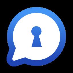 Logo of Visper app.