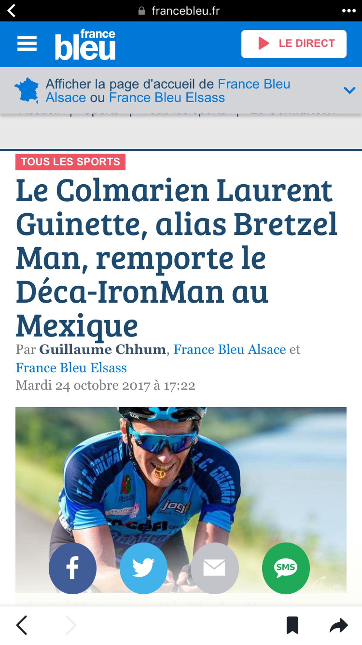 laurent quignette - bretzelman - article