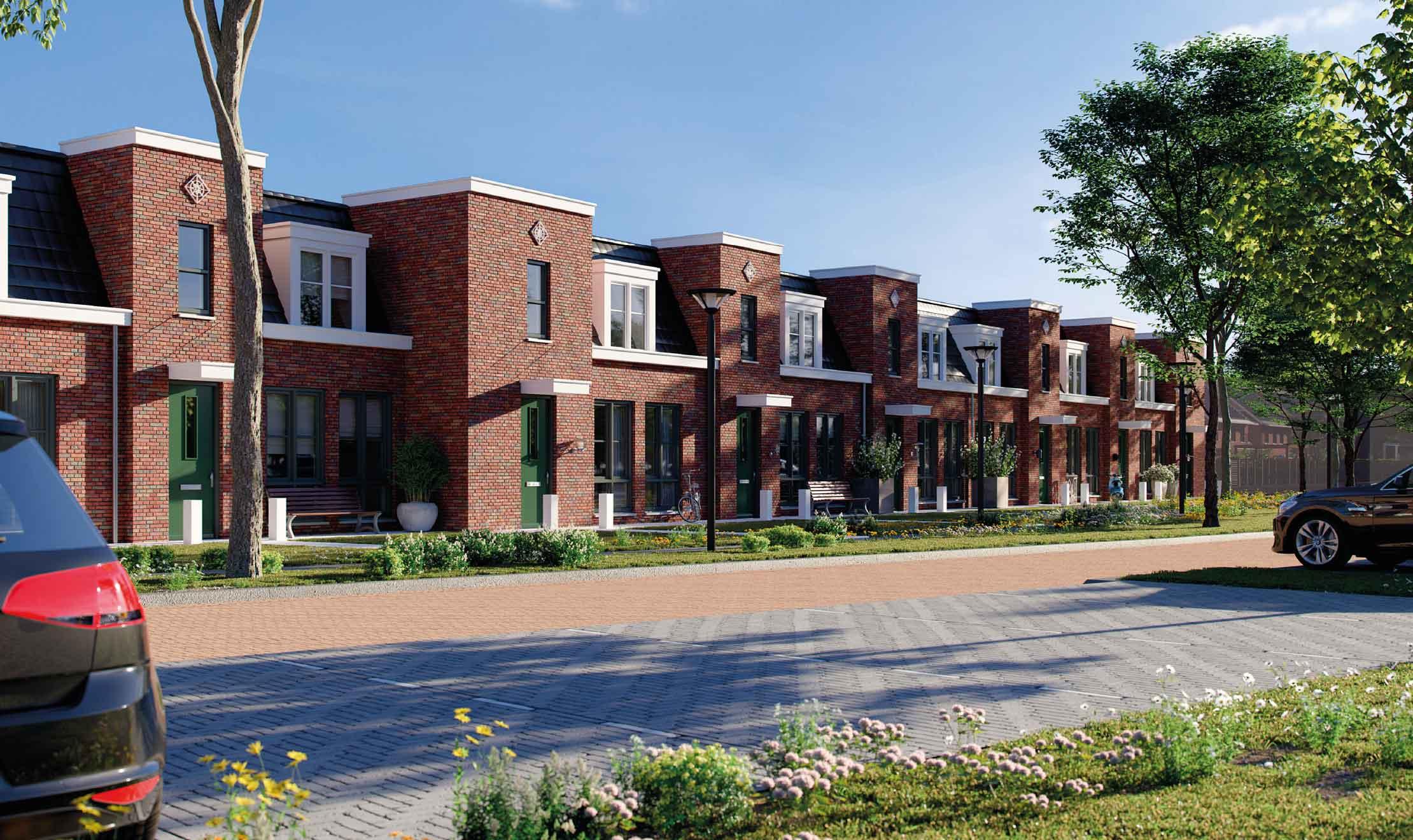 Impressies van de buurt Bos&Weide