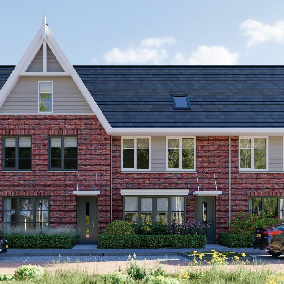Unieke en eigentijdse tussenwoning op het zuiden met een optie tot een vierde slaapkamer.