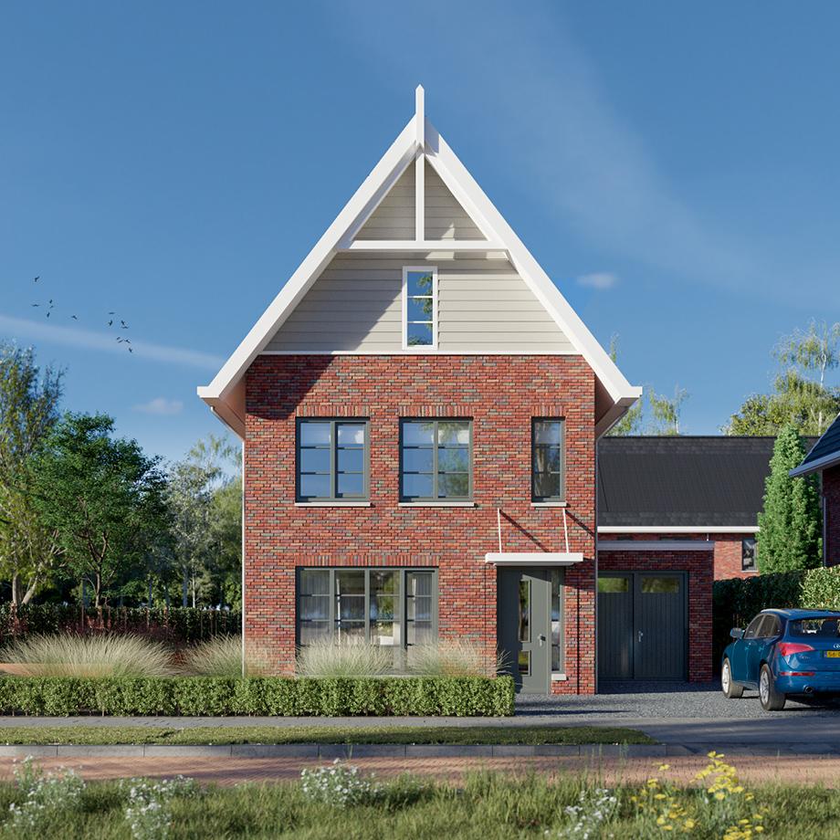 Statige vrijstaande woning met ruime voor- en achtertuin, een echte klassieke schoonheid.