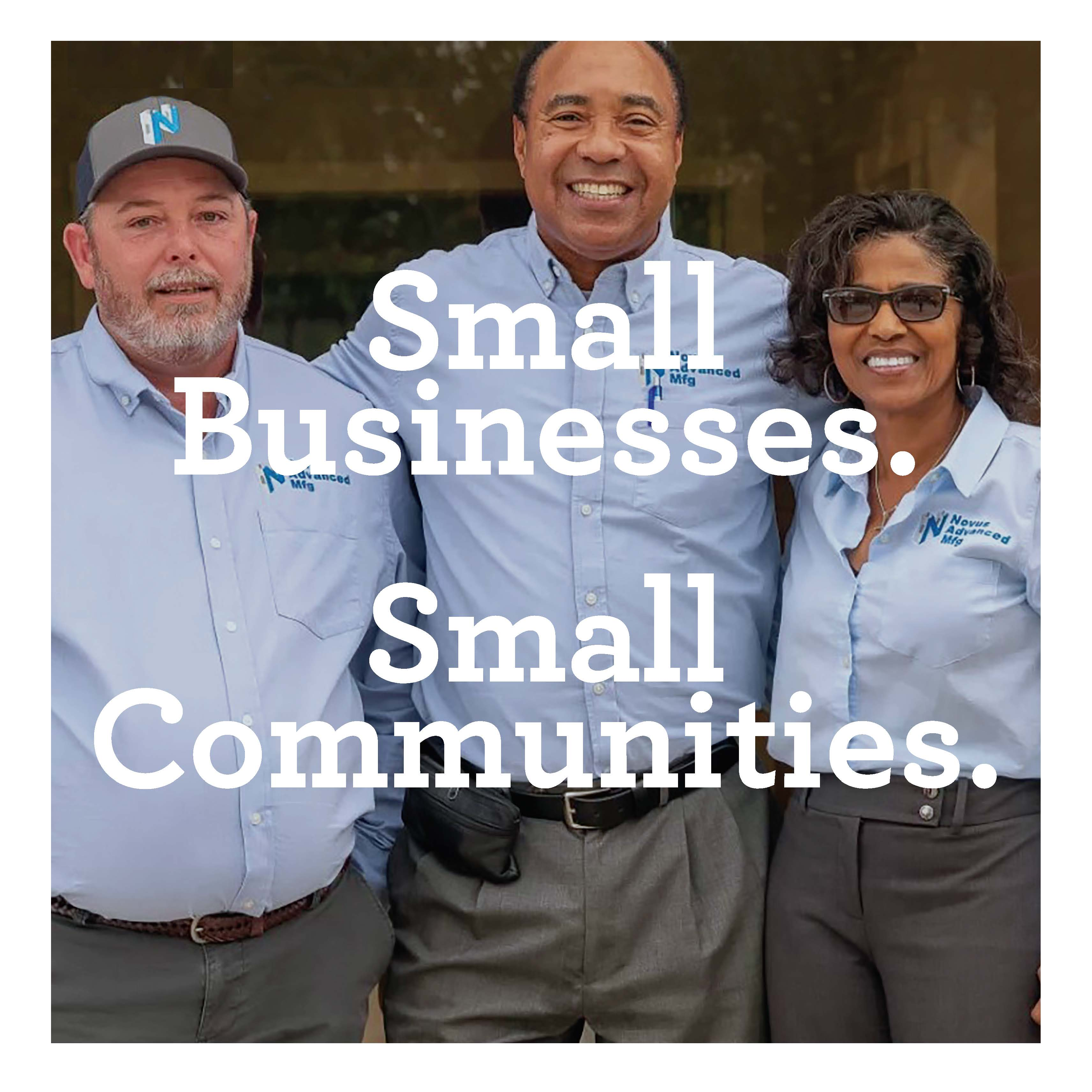 small businesses, small communities