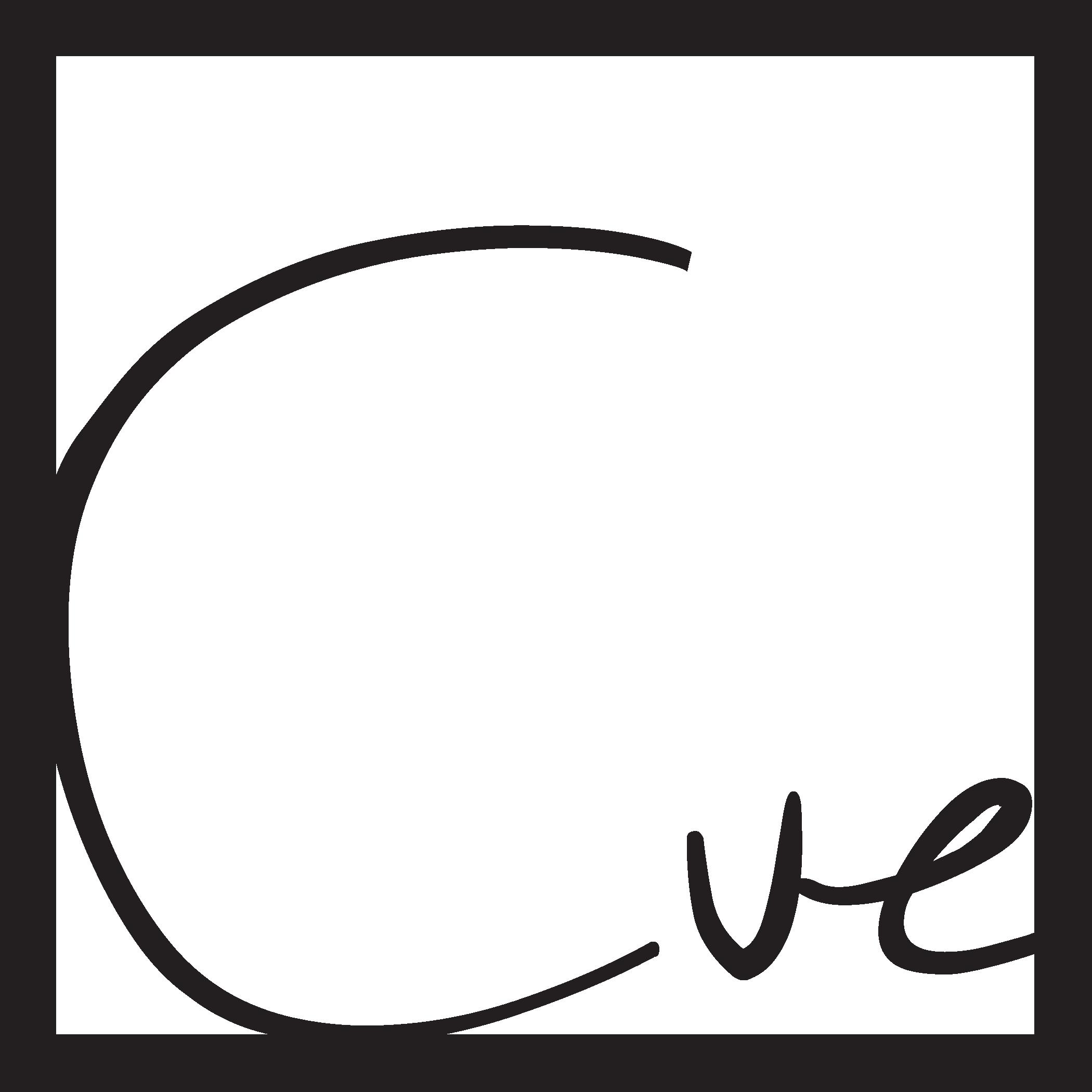 Cue CrossFit Logo