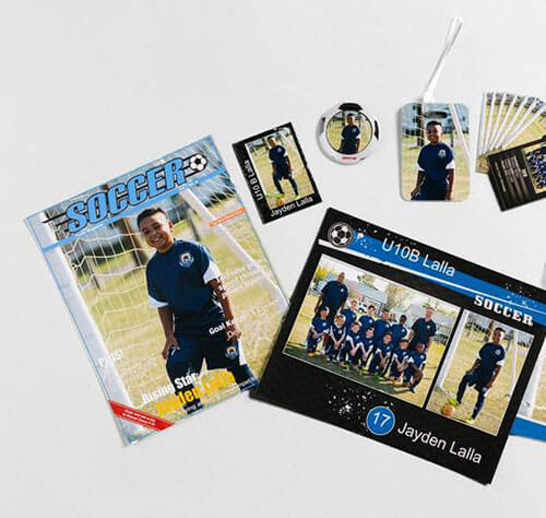 Team photo products