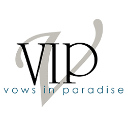 Vows in Paradise Logo