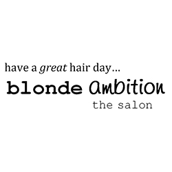 Blonde Ambition Logo