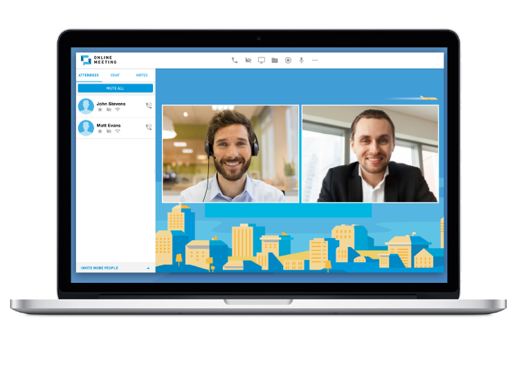 You Can Custom Brand Your Online Meetings With Companys Logo And Personalized Background To Reinforce Professional Respected