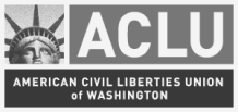 Logo for the ACLU
