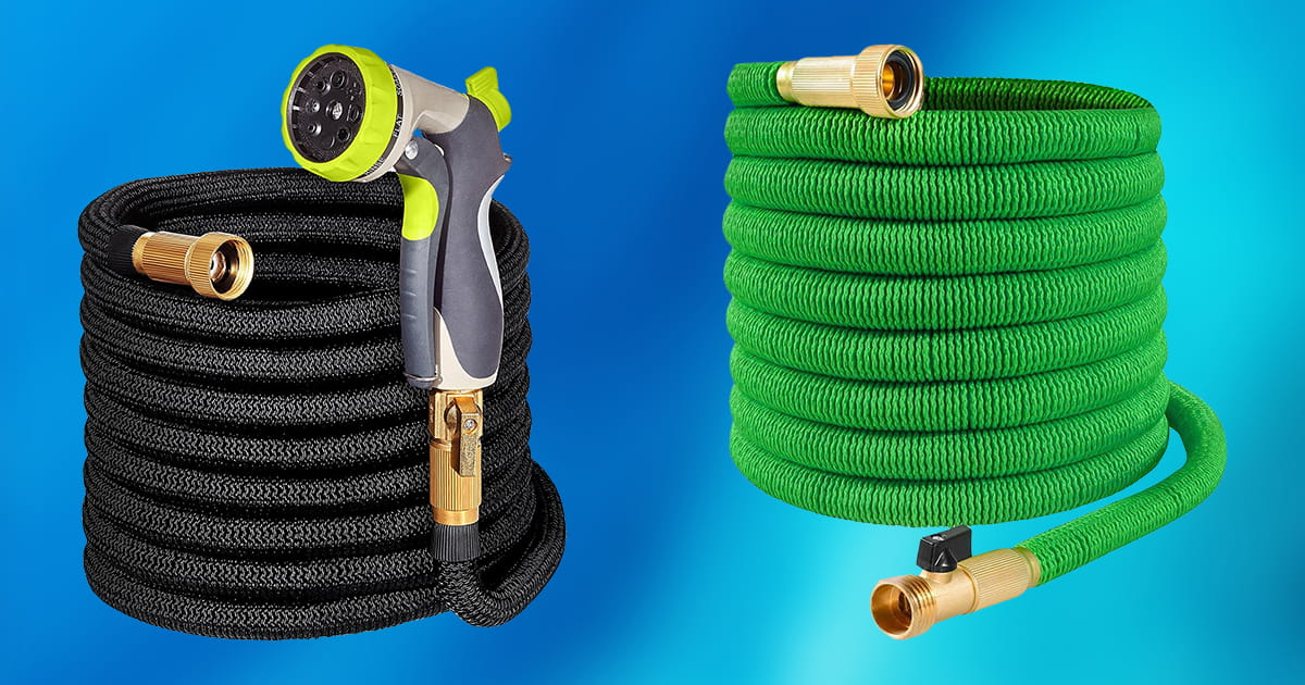 Best Expandable Garden Hoses | TOP 10 PICKS