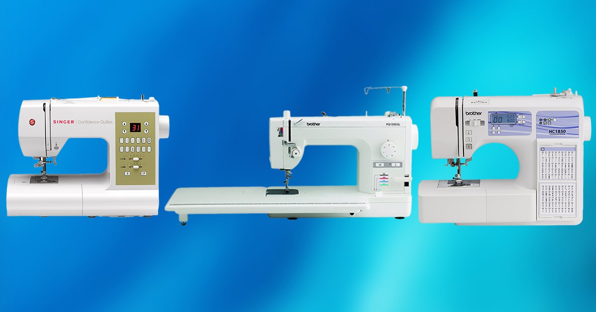 Best Quilting Sewing Machines TOP 40 PICKS Mesmerizing Youth Sewing Machines Sale