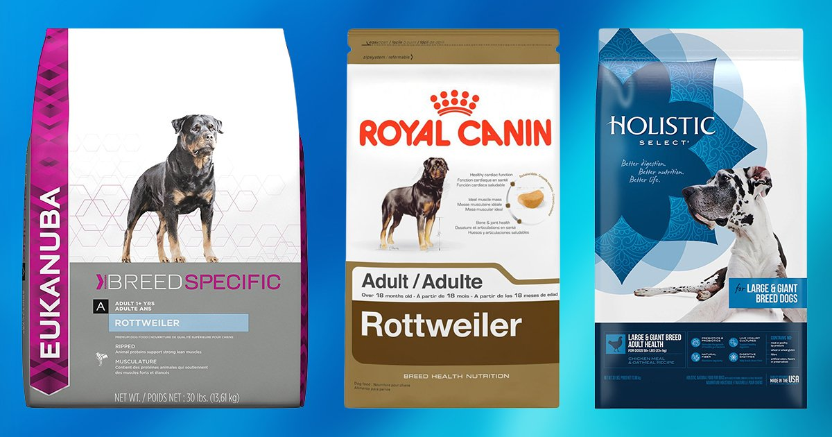 Best Dog Food For Rottweilers Top 10 Picks