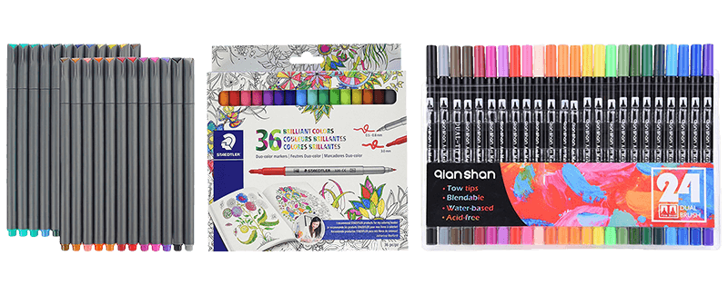 The Best Markers for Coloring for 2019 | Top 10 Review ✅