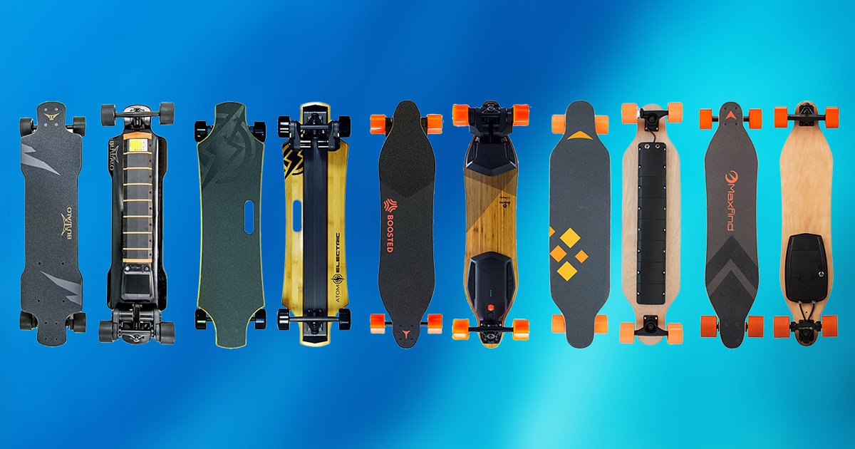 The Best Electric Longboards Amp Skateboards For 2019 Top