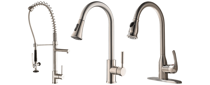 The Best Pull Down Kitchen Faucets For 2019 Top 10 Review