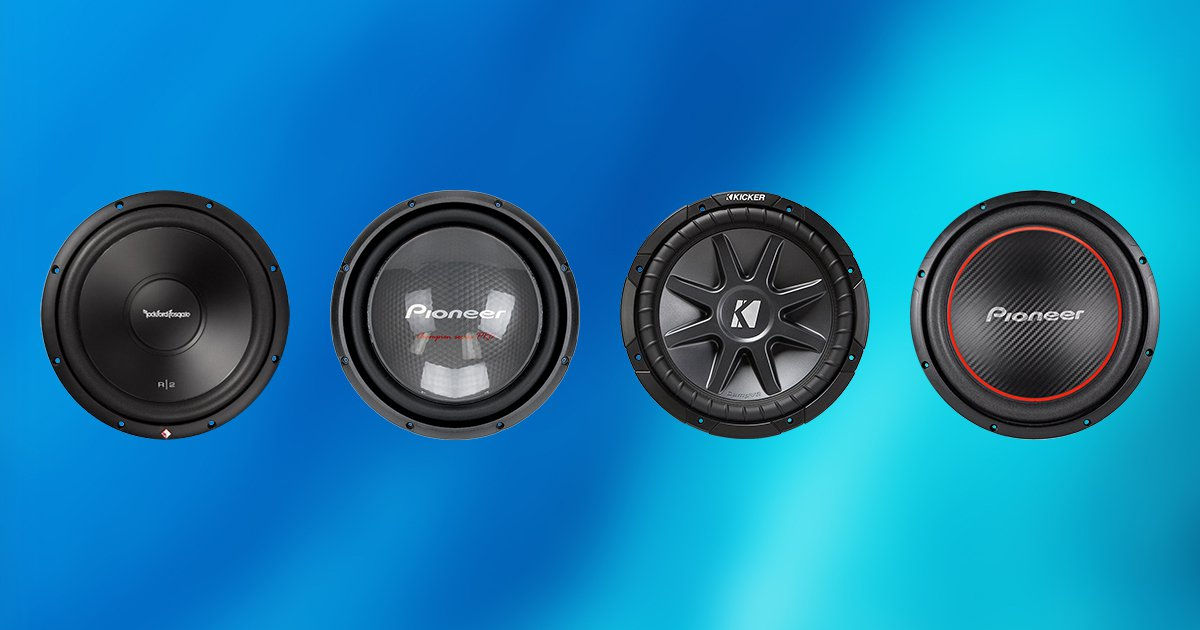 20 Inch Subwoofer: Best 12 Inch Subwoofers