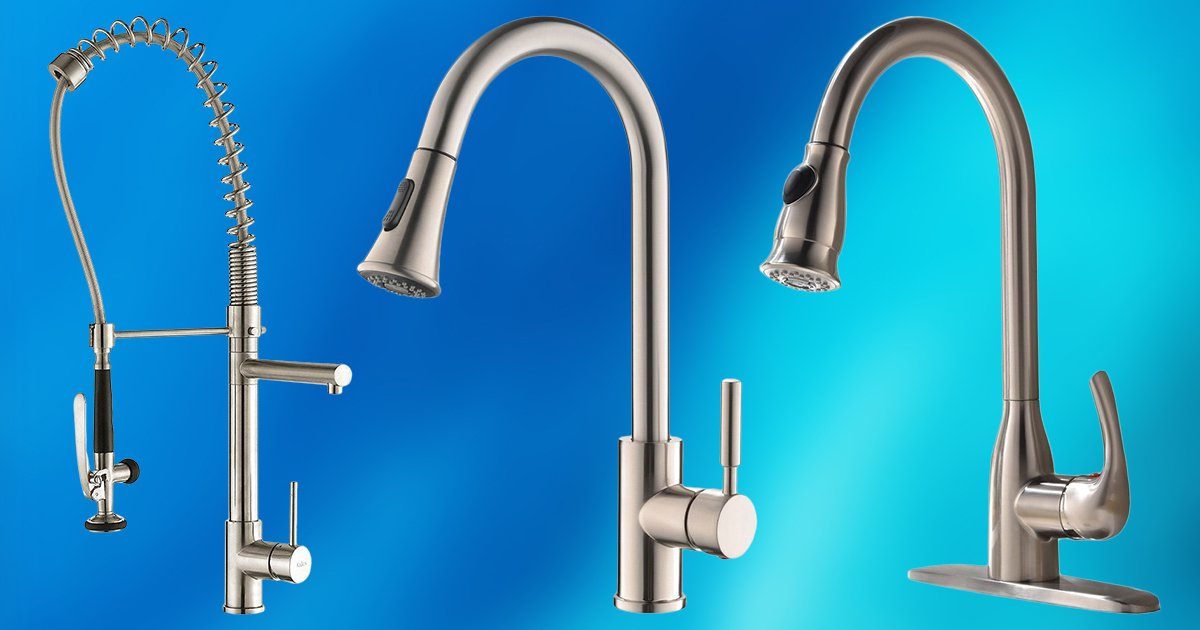 Best Pull Down Kitchen Faucets | TOP 10 PICKS