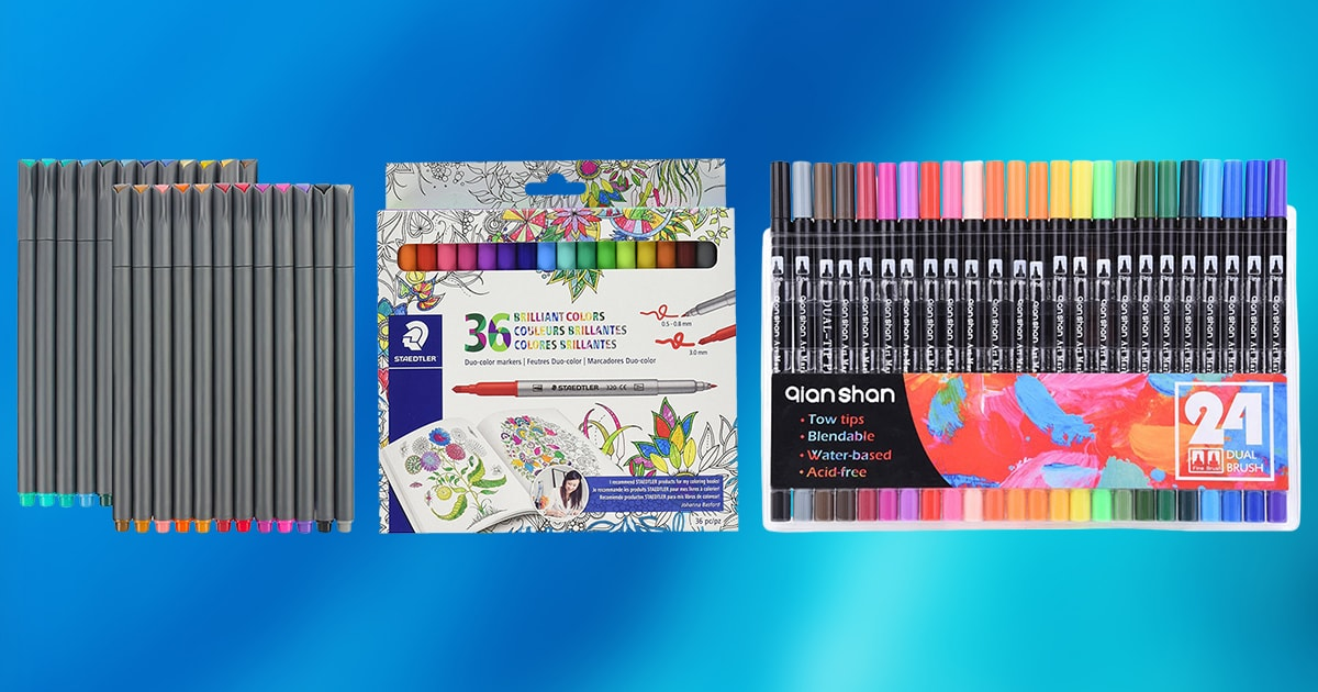 Best Markers for Coloring | TOP 10 PICKS