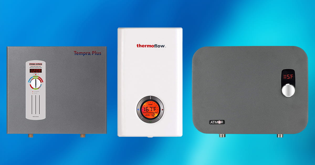 Best Electric Tankless Water Heaters For 2019 Top 10 Picks