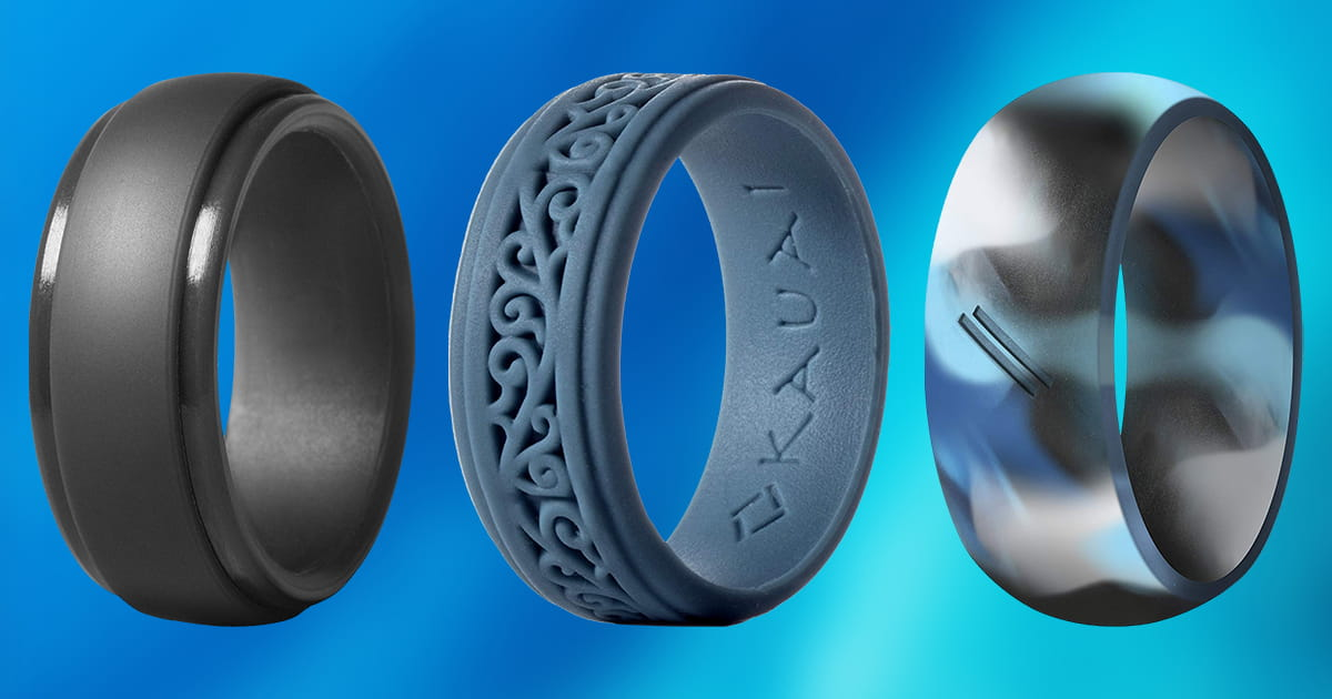 Silicone Wedding Band >> Best Silicone Rings | Review + Top 10 Picks