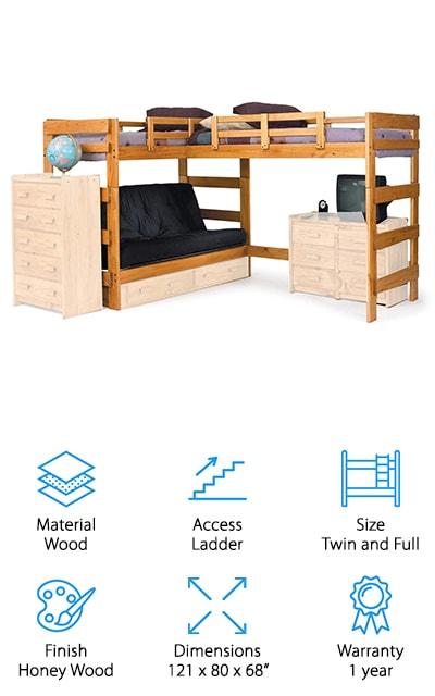 10 Best L Shaped Bunk Beds 2020 Buying Guide Geekwrapped