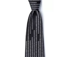 Binary Code Tie