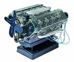v8 engine set