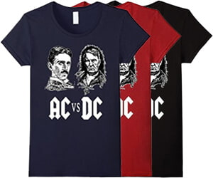 AC/DC Tesla Edison Shirt