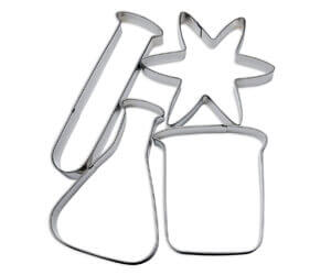 Science Cookie Cutter Set